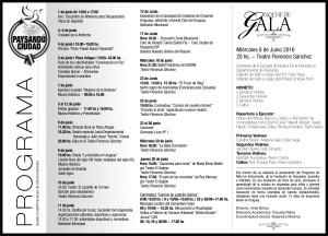 Programa 153º Paysandu Ciudad