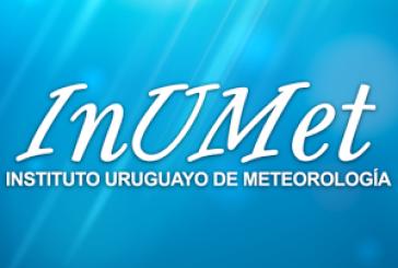 Cuatro días de lluvias intensas pronostica el Inumet