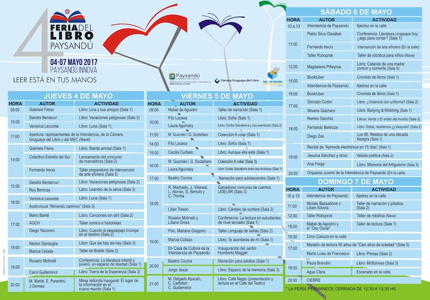 Feria del Libro de Paysandú 2017