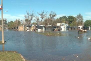 Aumenta número de desplazados a 1.235 personas en Paysandú. Se registraron abundantes precipitaciones en la cuenca alta del río Uruguay