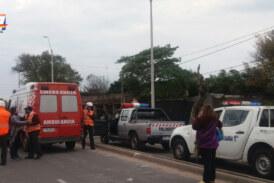 Un inspector de tránsito fue atropellado mientras participaba en un operativo