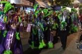 Comenzó el Carnaval con el primer desfile por 18 de Julio