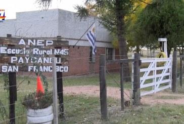 Las clases se reiniciaron en otras 29 escuelas rurales de Paysandú. Son 50 centros en actividad en todo el interior del departamento