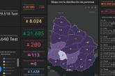 Coronavirus: Hoy se registraron 17 casos nuevos en Paysandú. Hay 70 casos activos en el departamento